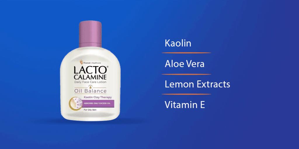 Lacto Calamine Face Oil Balance Face Lotion