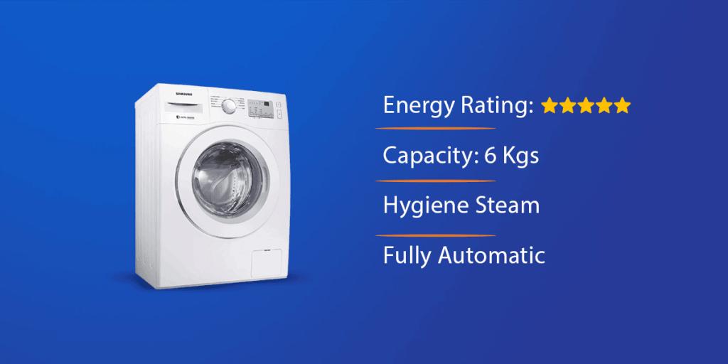Samsung 6.0 Kg Front Loading Washing Machine
