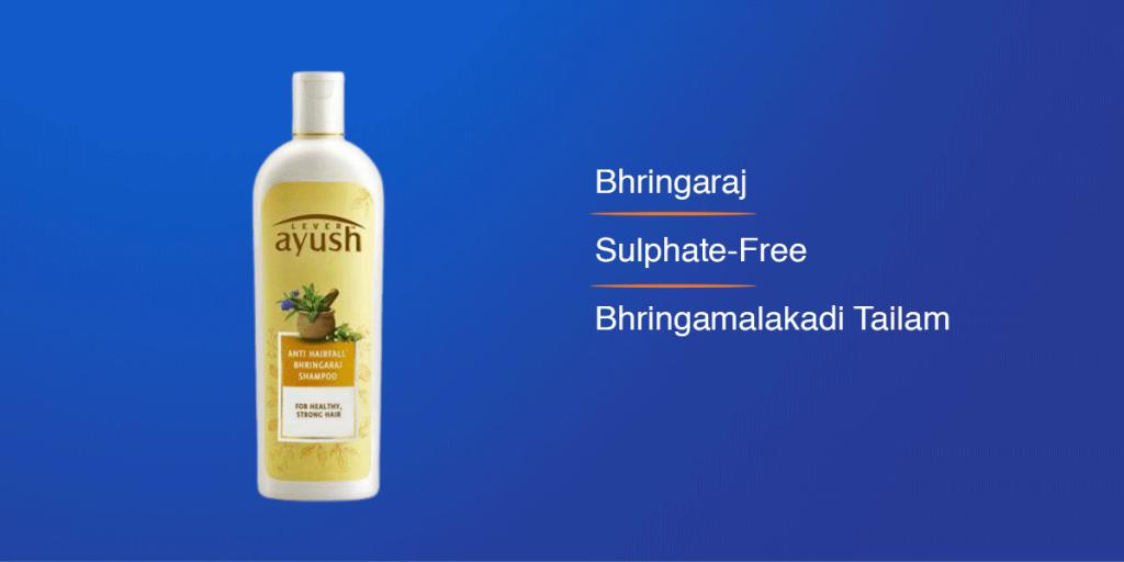 Lever Ayush Bhringaraj Anti-Hair Fall Shampoo