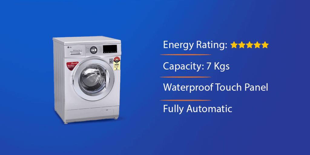 LG 7.0 Kg Front Loading Washing Machine