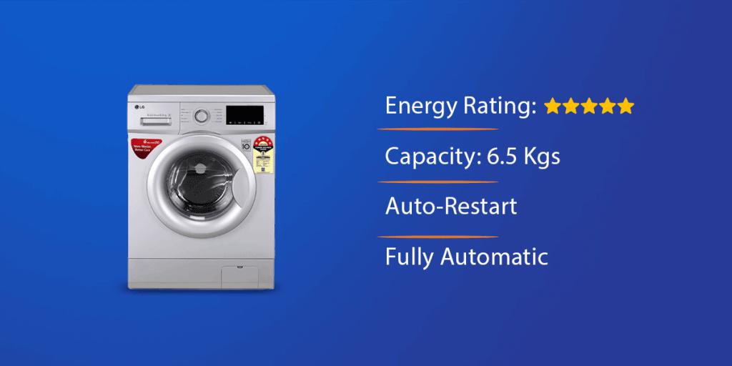 LG 6.5 Kg Front Loading Washing Machine