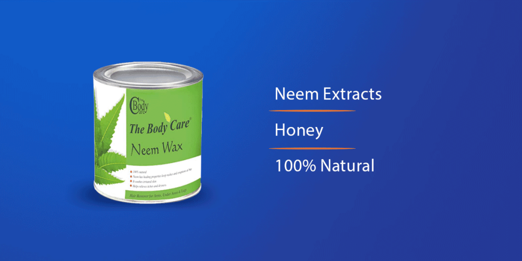 The Body Care Neem Hot Wax