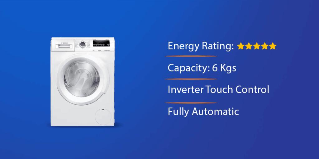 Bosch 6 Kg Front Load Washing Machine