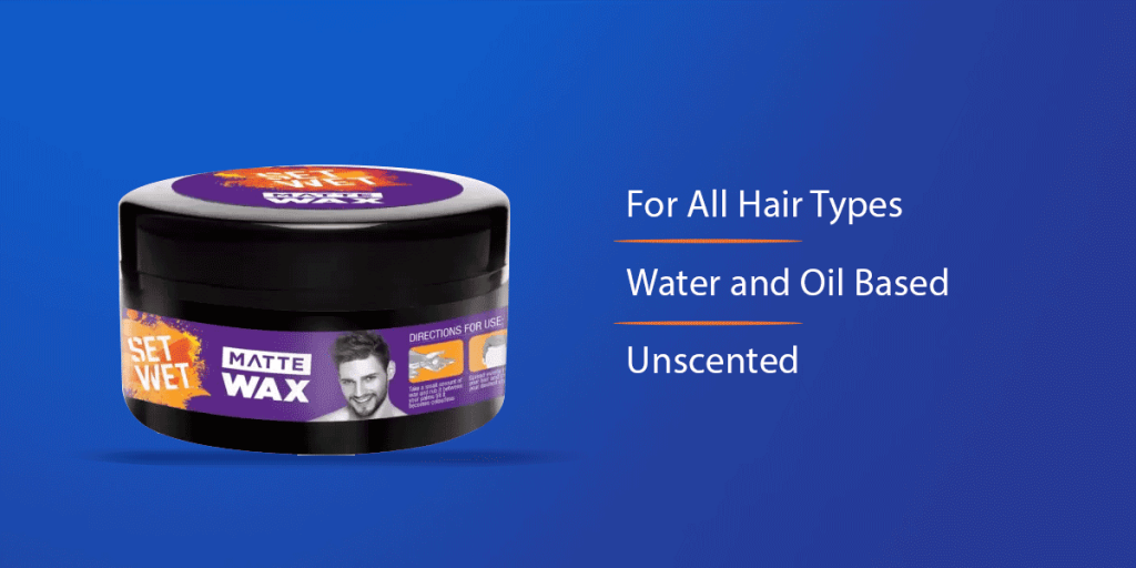 Set Wet Matte Hair Wax