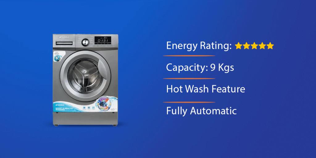 Sansui 9 Kg Front Loading Washing Machine