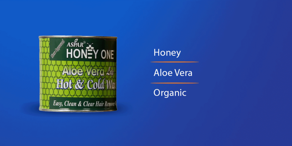 Aspar Honey Aloe Vera Hot Wax