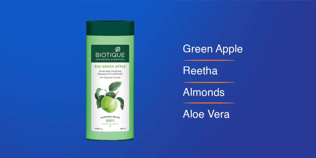 Biotique Bio Green Apple Shampoo
