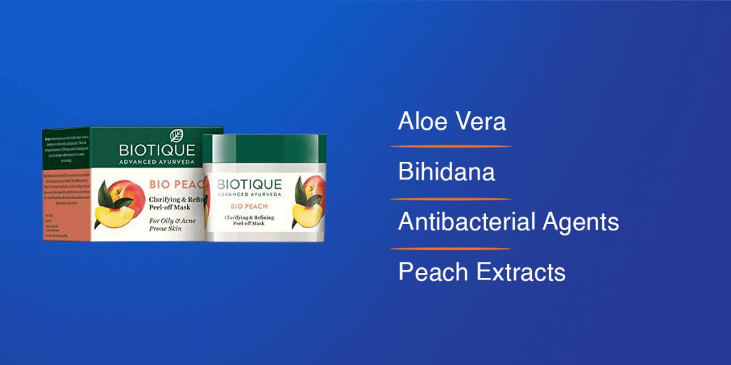 Biotique Bio Peach Peel Off Face Mask