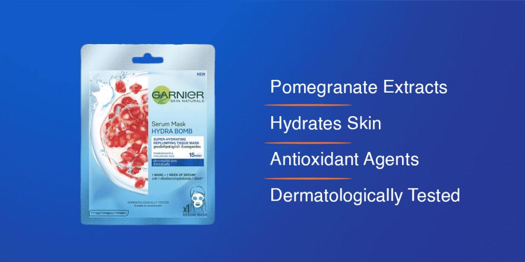 Garnier Skin Naturals Peel Off Face Mask