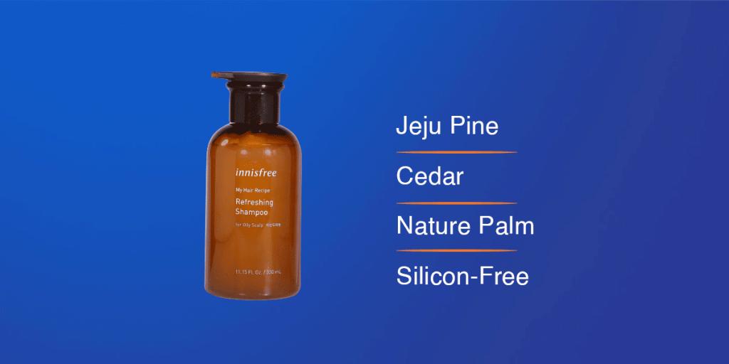 Innisfree My Hair Recipe Refreshing Shampoo