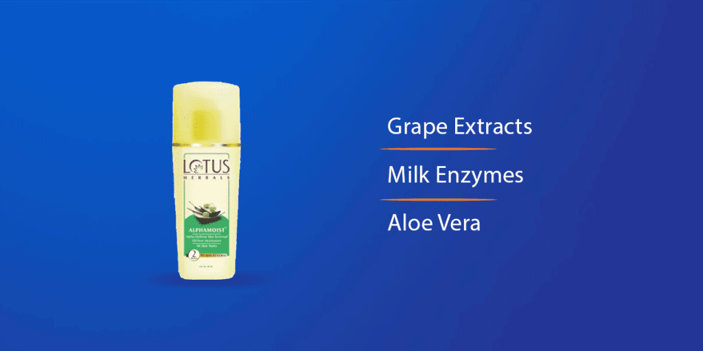 Lotus Herbals Moisturizer for Oily Skin