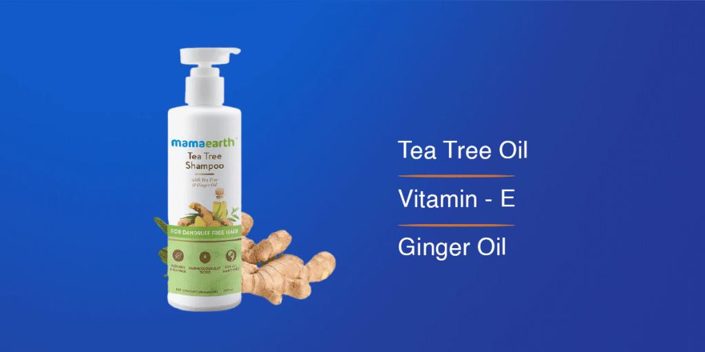MamaEarth Tea Tree Shampoo
