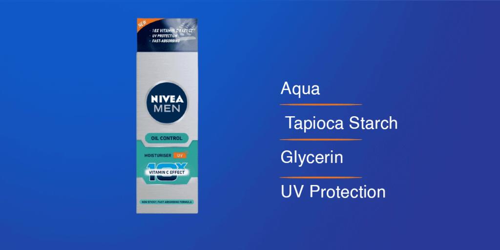 Nivea Men's Face Moisturizer for Oily Skin