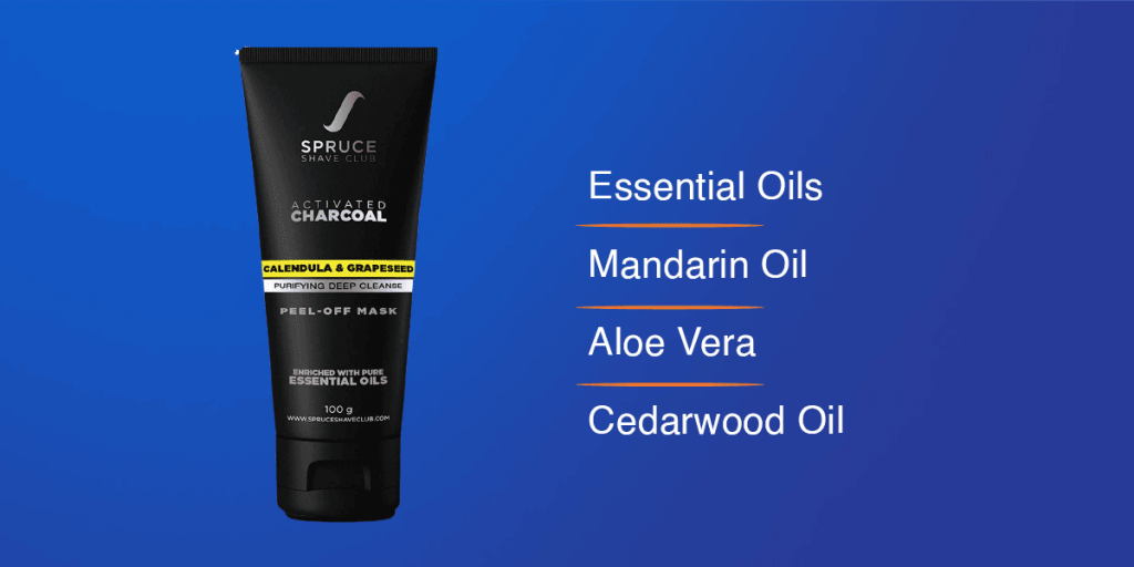Spruce Shave Club Charcoal Peel Off