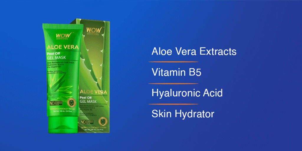 Wow Skin Science Aloe Vera Peel Off Mask