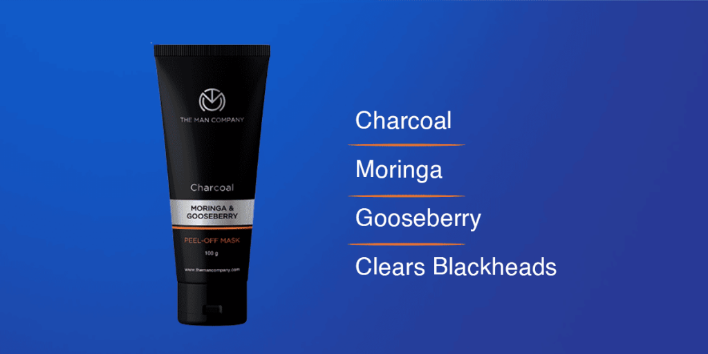 The Man Company Charcoal Peel Off Face Mask