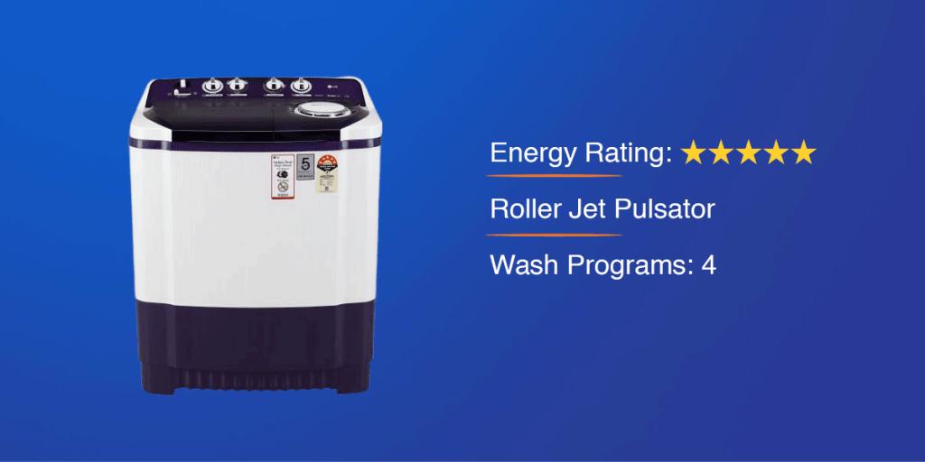 LG 8 kg Semi Automatic Washing Machine