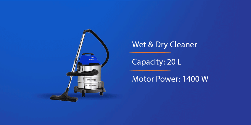 Eureka Forbes Wet and Dry Vacuum Cleaner