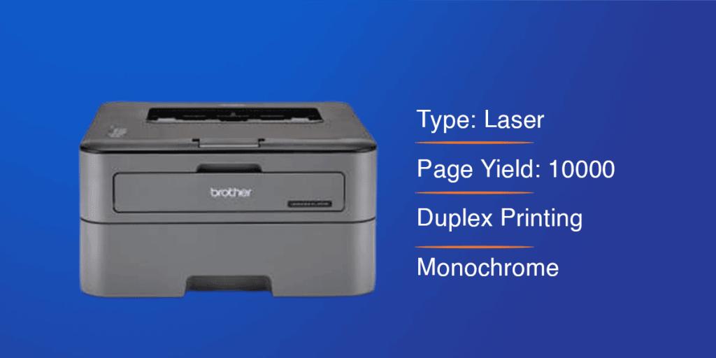 Brother HL-L2321D Monochrome Printer