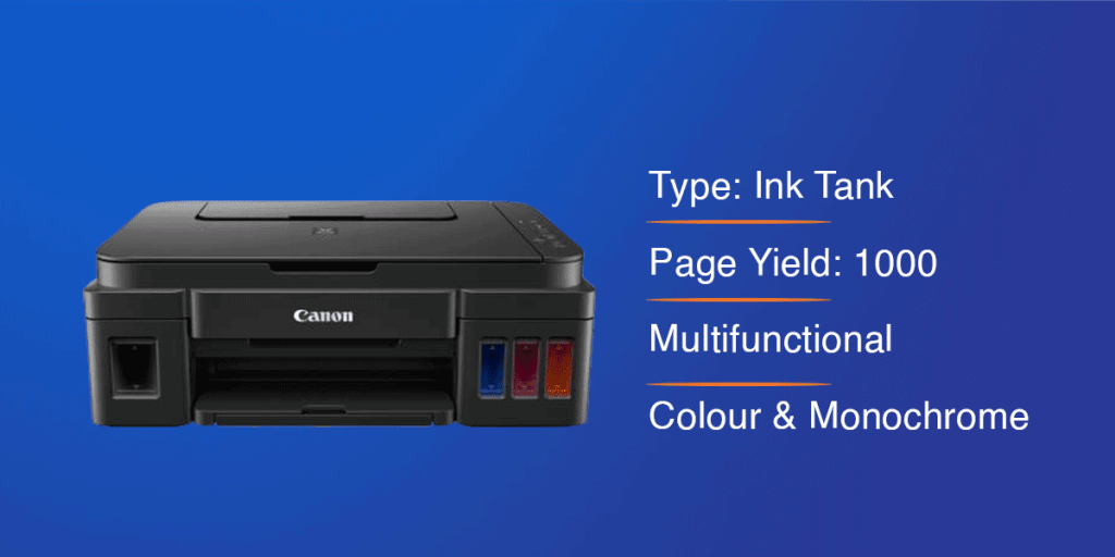 Canon Pixma G2000 Color Printer