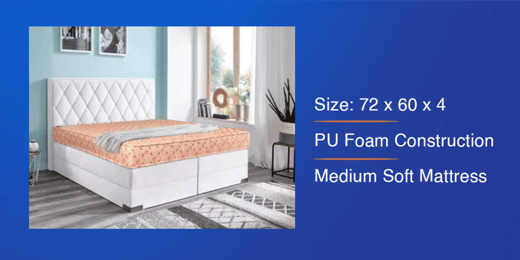 Kurlon PU Foam Mattress for Queen Bed