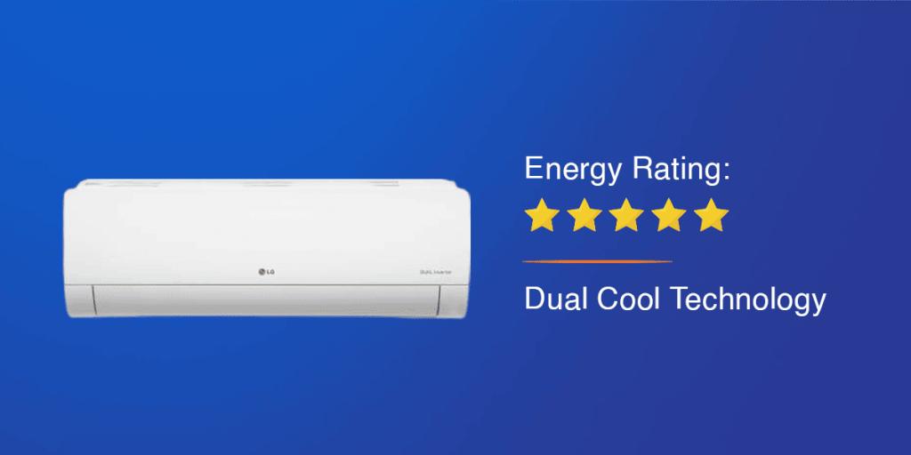 LG 1.5 Ton Split Dual Inverter AC