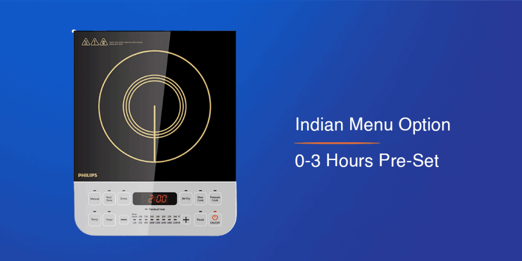Philips Viva Induction Cooktop