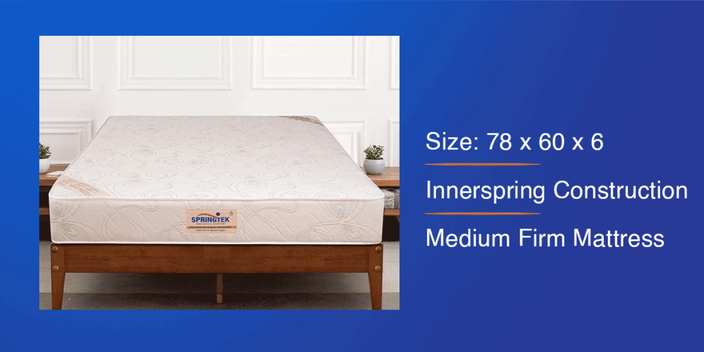 Springtek Orthopedic Mattress for Queen Bed