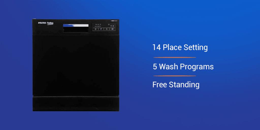 Voltas Beko 14 Place Dishwasher