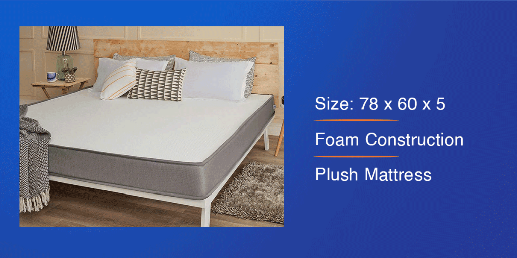 Wakefit Dual Comfort Mattress for Queen Bed