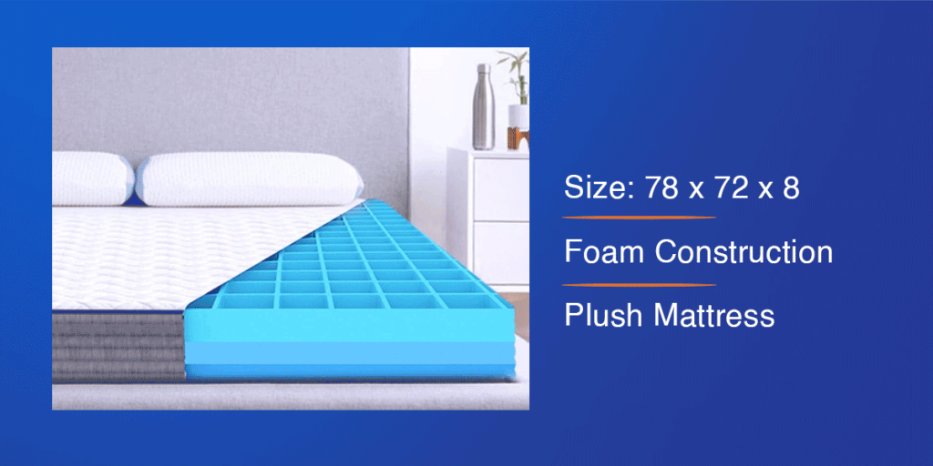 The Sleep Company Smart Mattress for King Bed