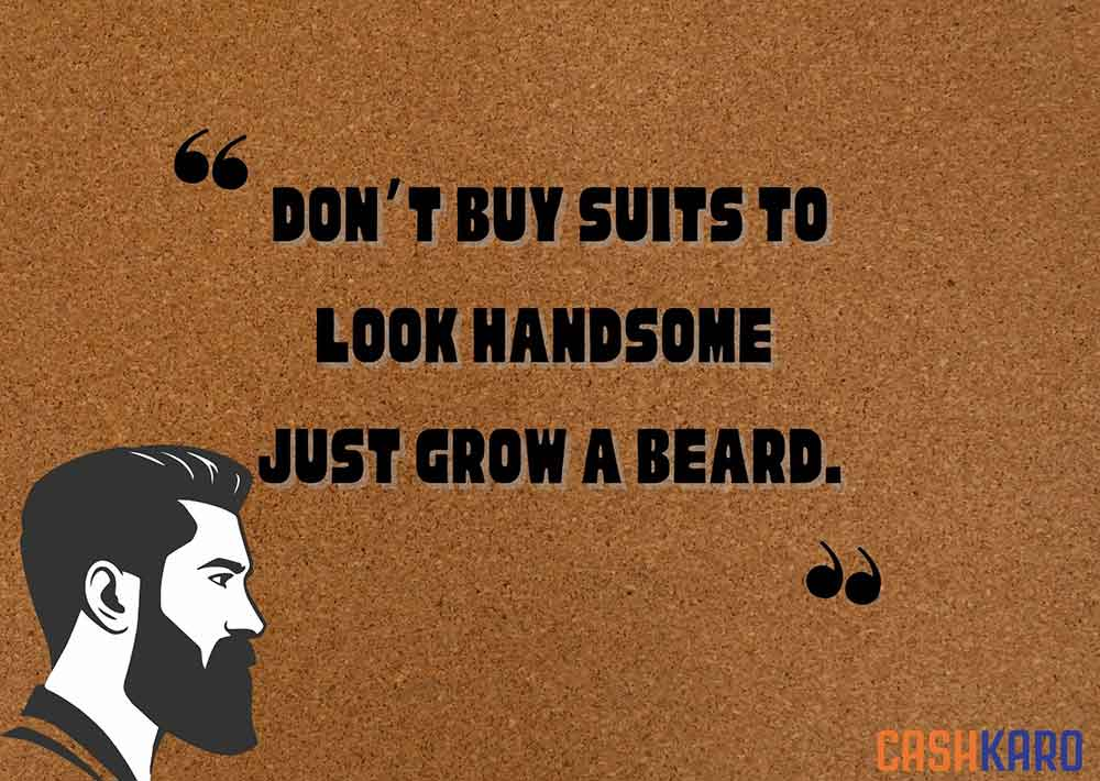 best beard captions for social media