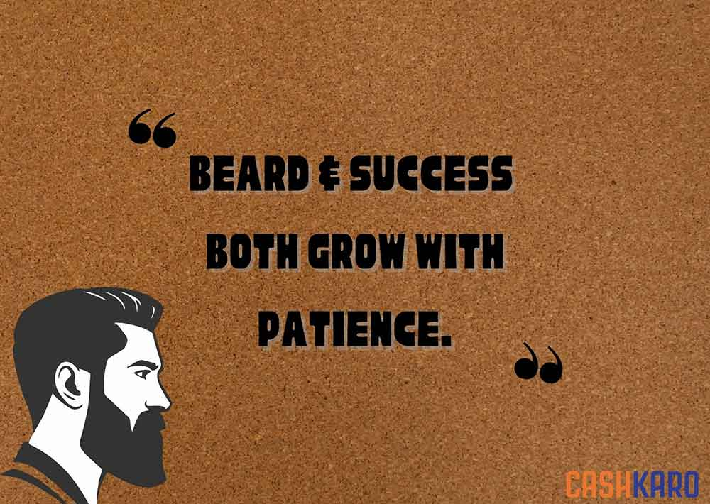 best beard quotes for men