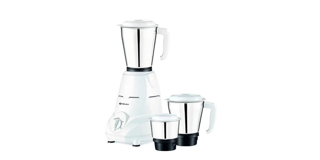 Bajaj Rex Mixer Grinder, 500 W – 3 Jars