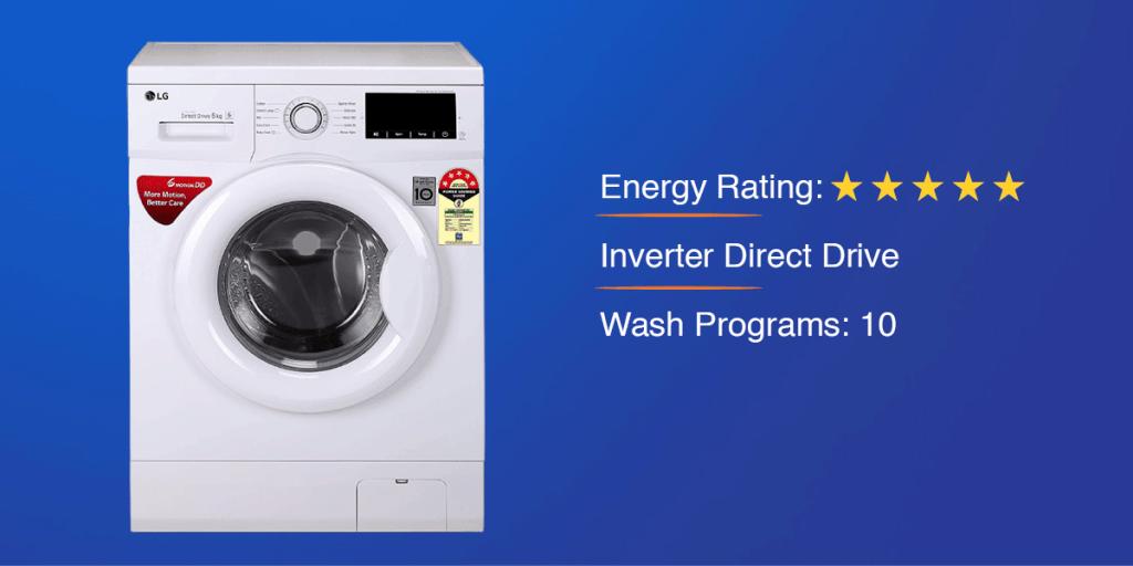 LG 6.0 kg Inverter Front Loading Washing Machine