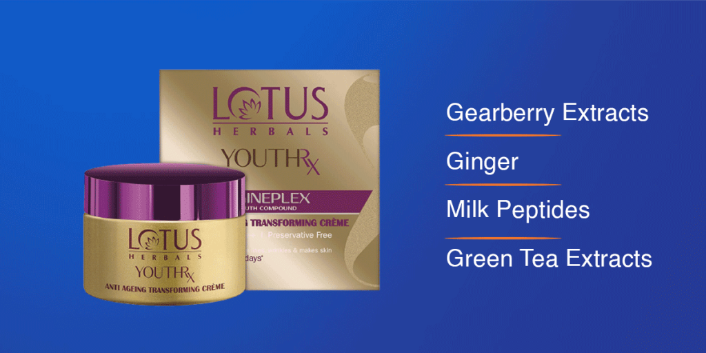 Lotus Herbals Youth Rx Anti-Ageing Cream