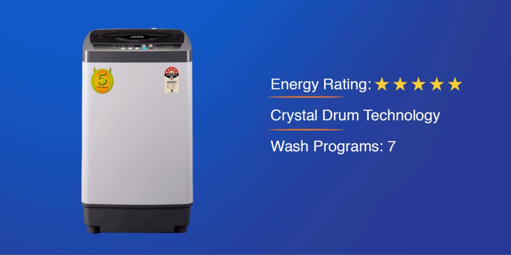 Onida 6.5 kg Top Loading Washing Machine