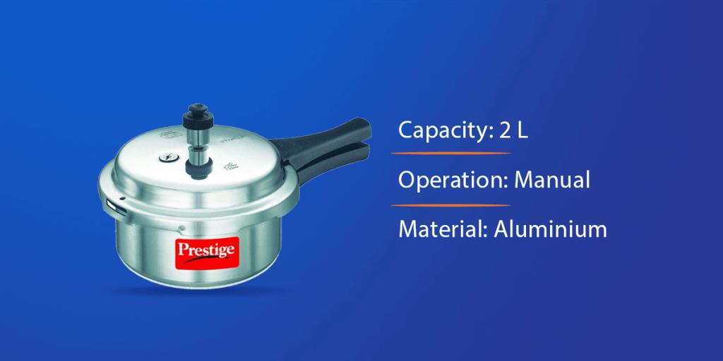 Prestige Popular Aluminium Pressure Cooker