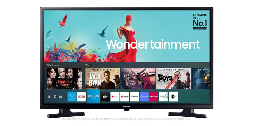 Samsung 80 cm (32 Inches) Wondertainment Series HD Ready LED Smart TV