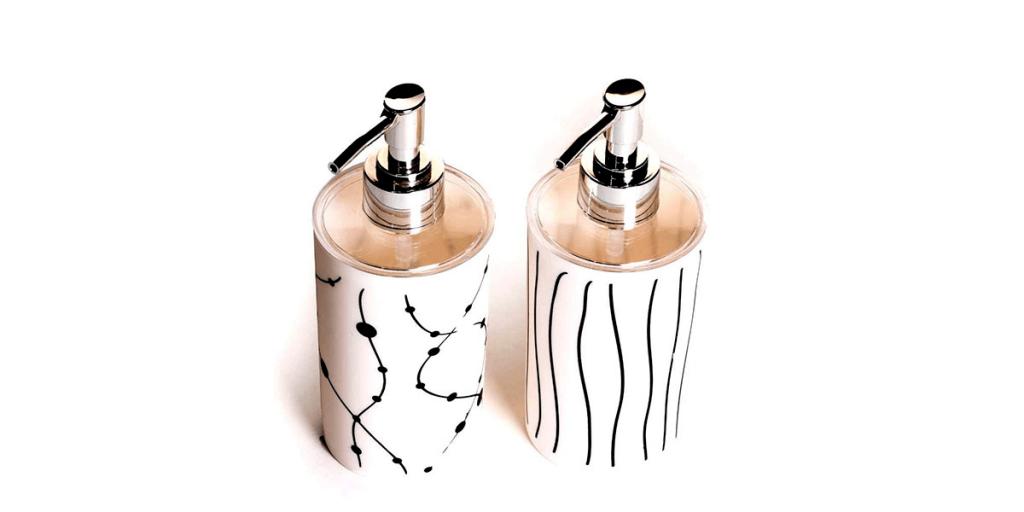 Sigma 6 Soap Dispenser Bottle Set