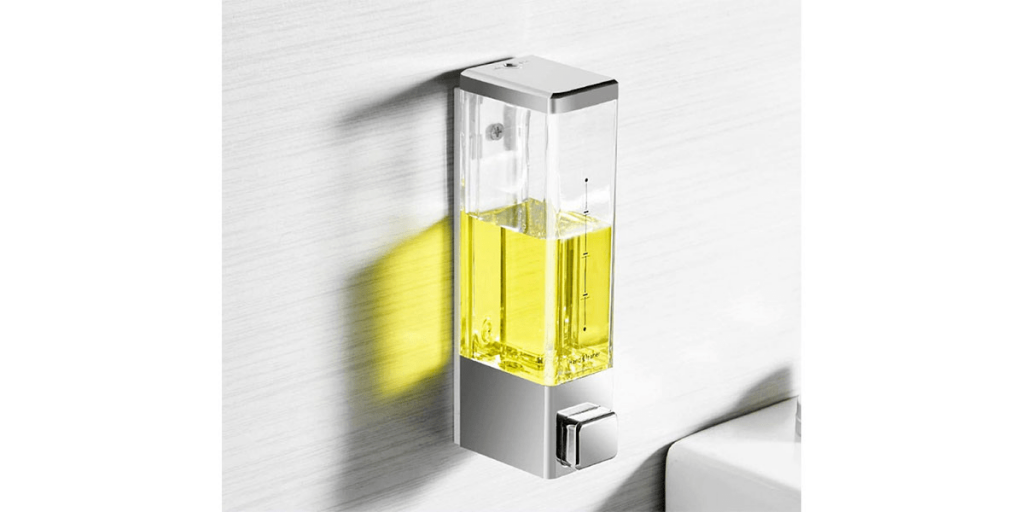 Total Home Wall Mounted Liquid Soap Dispenser