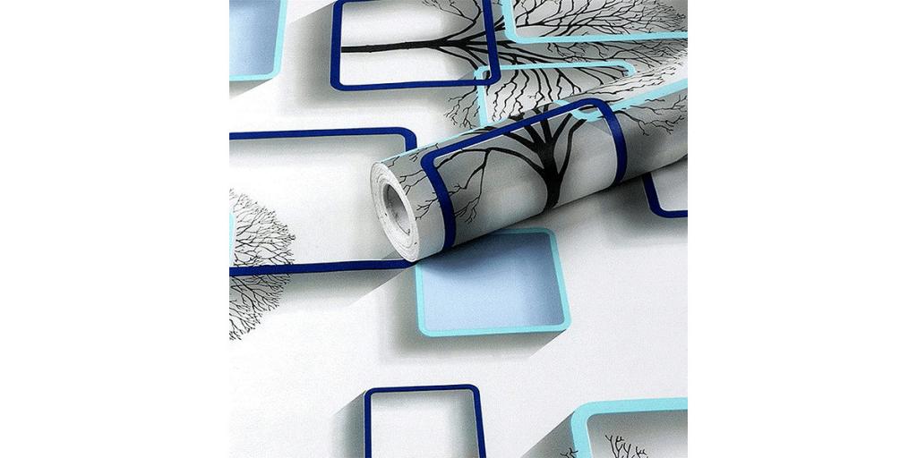 Wolpin 3D PVC Wallpaper Wall Sticker