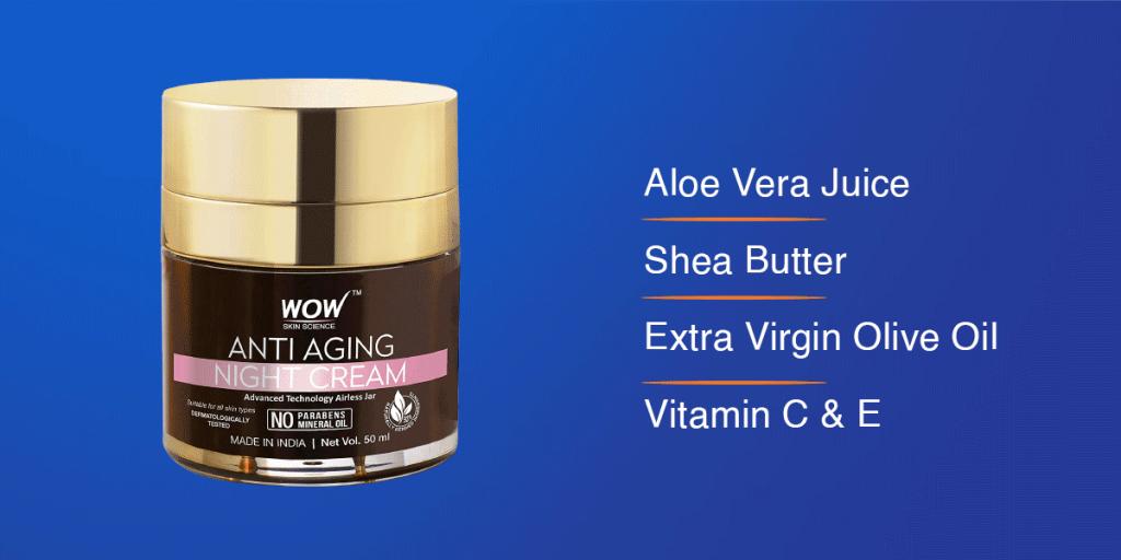 Wow Anti-Ageing Night Cream