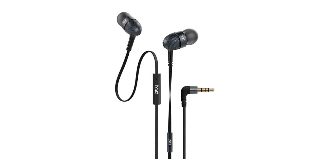 boAt Bassheads 225 In-Ear Wired Earphones with Mic