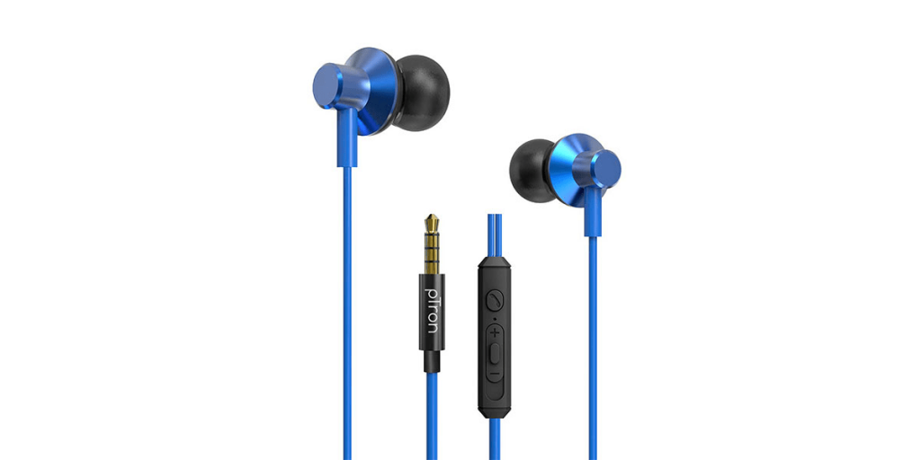 pTron Pride Lite HBE In-Ear Wired Headphones with In-Line Mic