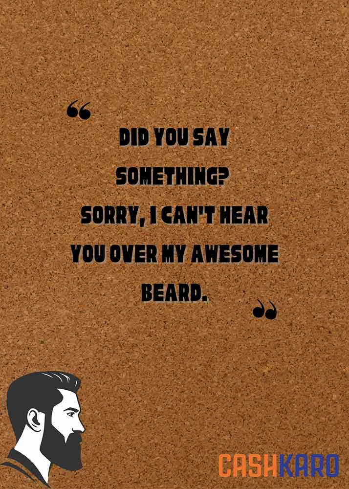 best beard quotes for instagram