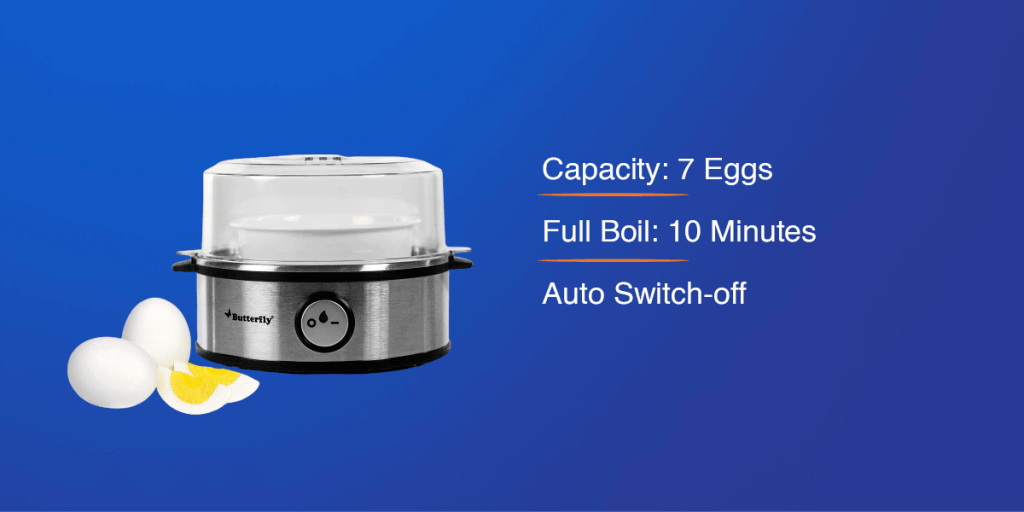 Butterfly Electric Egg Boiler