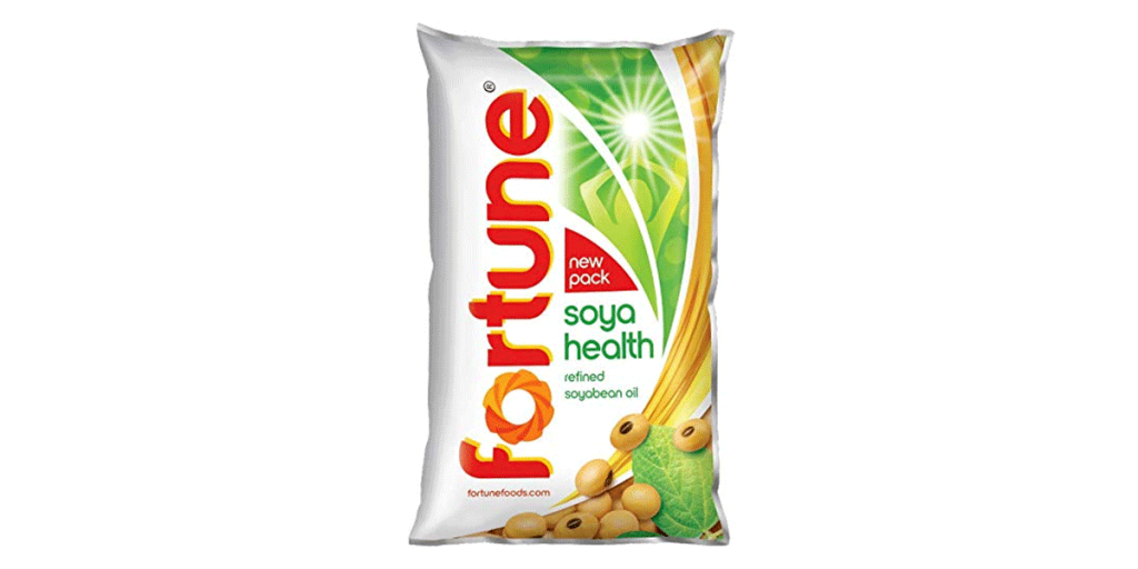 Fortune Soyabean Oil – 1L Pouch