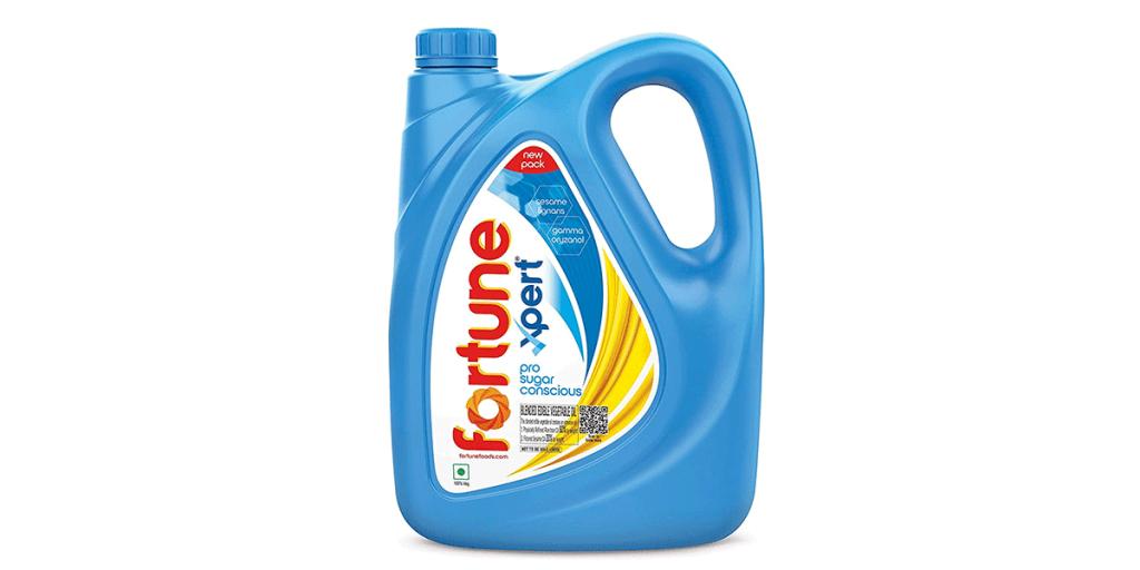 Fortune Xpert Pro Sugar Conscious Edible Oil – 5L Jar