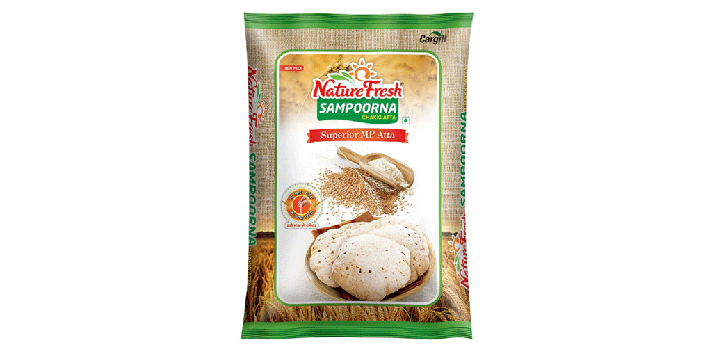 Nature Fresh Sampoorna Atta, 5 kg